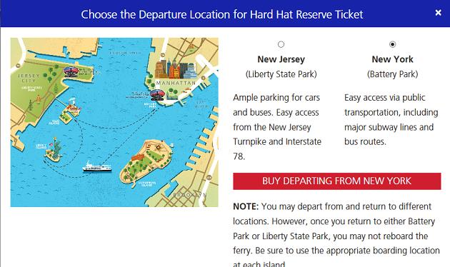 2016年版 自由の女神 Statue of liberty チケット予約 new york