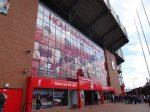 アンフィールド・スタジアム(Anfield Stadium)正面