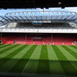 アンフィールド・スタジアム(Anfield Stadium)正面から