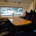 マンチェスターからロンドン へ(バージン・トレインのペンドリーノ乗車)first class